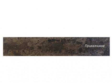 Поковка для ножа из дамаска крученого размеры: 350х40х3-3,5мм.
