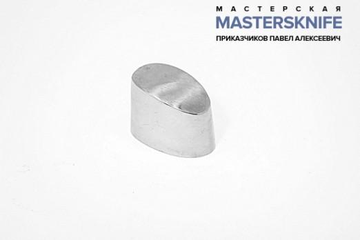 Литье для ножа из мельхиора навершие (тыльник) модель НАПМ76