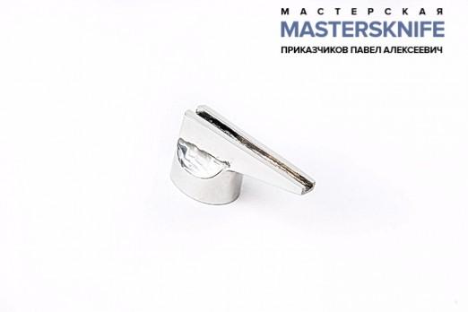 Литье для ножа из мельхиора гарда модель ГАРМ18