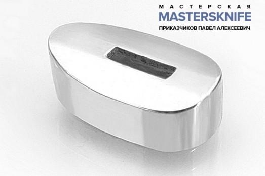 Литье для ножа из мельхиора притин модель ПРМ18