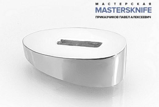 Литье для ножа из мельхиора притин модель ПРМ23