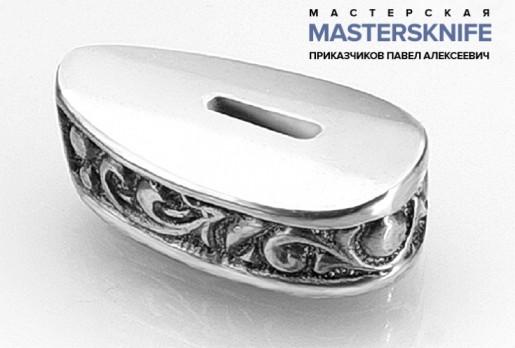Литье для ножа из мельхиора притин модель ПРМ38
