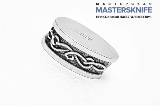 Литье для ножа из мельхиора притин модель ПРМ54