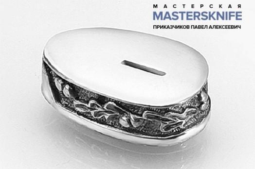 Литье для ножа из мельхиора притин модель ПРМ63