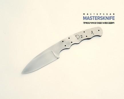 Цельнометаллический клинок для ножа из стали D2 N1