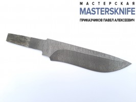 Клинок из дамасской стали №1