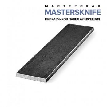 Заготовка из стали NIOLOX для ножа размеры 250х30х4 мм.