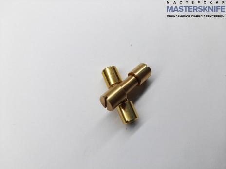 Винт корби диаметр 4,9 мм латунь