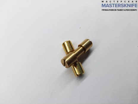 Винт корби диаметр 6,8 мм латунь