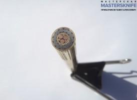 Мозаичный пин для рукояти ножа 8 мм № 3