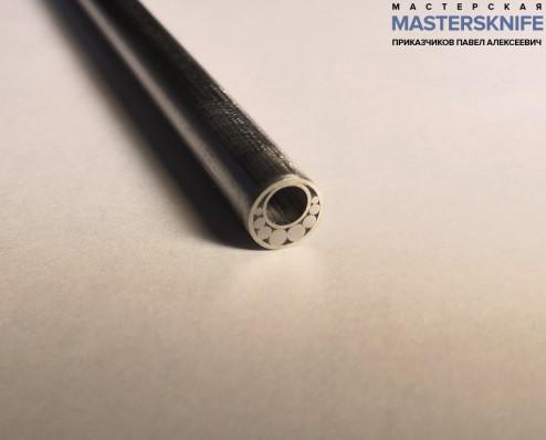 Мозаичный пин для рукояти ножа 8 мм № 9