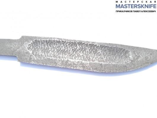 Поковка для якутского клинка из Х12МФ длина 150+ (правша) Вариант 2