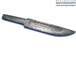 ЭКСКЛЮЗИВ. Заготовка для якутского клинка из Дамаска крученого длина 150+ (правша)