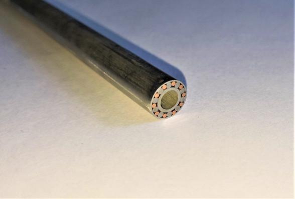 Мозаичный пин для рукояти ножа 8 мм № 16