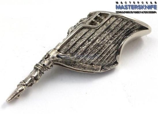 Литье для ножа из мельхиора притин модель ПРМ103