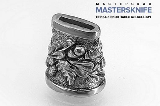 Литье для шампура из мельхиора притин модель ШМ11