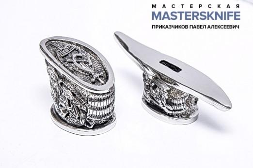 Комплект литья для ножа из мельхиора — модель КМ7