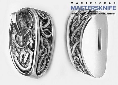 Комплект литья для ножа из мельхиора — модель КМ17