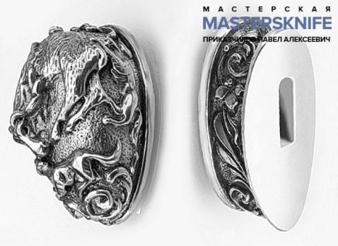 Комплект литья для ножа из мельхиора — модель КМ40