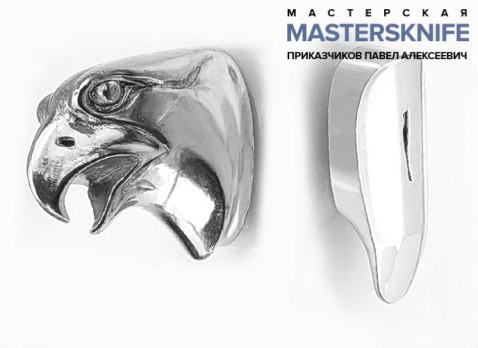 Комплект литья для ножа из мельхиора — модель КМ156