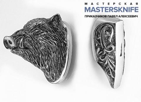 Комплект литья для ножа из мельхиора — модель КМ159