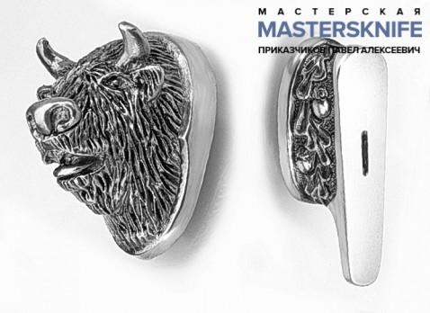 Комплект литья для ножа из мельхиора — модель КМ161