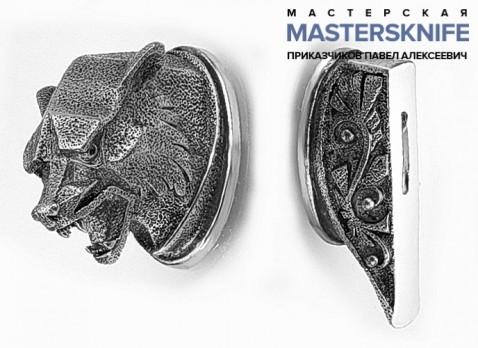 Комплект литья для ножа из мельхиора — модель КМ163